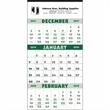 3-Month Planner - 12-Sheet Calendar