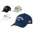 Callaway® Side Crested Custom Cap - Side crested custom cap made of cotton twill fabric.