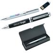 Executive USB Pen - USB twist action pen. Black ink with medium point.
