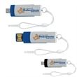 Mini on the Go USB 2.0 Flash Drive - Mini, On the Go USB 2.0 flash drive.