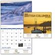 Scenic British Columbia Calendar - Stapled