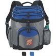 Koozie® Kooler Backpack - Kooler backpack with main zippered compartment and front zippered pocket for additional storage.