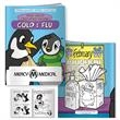 Coloring Book: Cold & Flu Fight Germs with Pengy