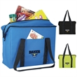 Koozie®Large Grocery Tote Kooler - Large grocery tote kooler with zippered main compartment and front slip pocket.
