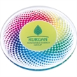 Round Acrylic Coaster - Crystal clear round acrylic coaster with a large imprint area.