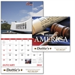 Stapled Celebrate America Americana Appointment Calendar