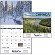 Stapled Scenic Canada Appointment Calendar