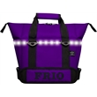 Frio 18 Can LED Cooler Tote - Full Body Custom - Light weight soft side Frio 18 LED Can includes 1 mesh storage area, adjustable shoulder strap, & easy carry handle, remote, 4 AA
