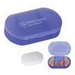 Oval Shape Pill Holder