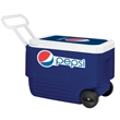 Igloo Wheelie Cool 38 Cooler - 38 quarts, 53 cans capacity cooler with durable wheels.