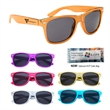 Metallic Malibu Sunglasses - Metallic Malibu Sunglasses made Of Polycarbonate material.