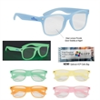 Glow-In-The-Dark Frame Glasses with Clear Lenses - Glow-In-The-Dark Frame Glasses with Clear Lenses. All glass frames glow green.