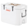 "Coleman 85 Quart Super Cooler - 32 13/16"" x 21 13/16"" x 19 3/8"" cooler with an 85 quart capacity, integrated cutting board and dry storage basket from Coleman"