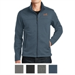 The North Face Ridgeline Soft Shell Jacket - Soft shell jacket with brushed micro-gridded fleece interior and hem cinch-cord
