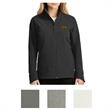 The North Face Ladies' Tech Stretch Soft Shell Jacket - Soft shell jacket for ladies with reverse-coil center front zipper and secure-zip hand pockets
