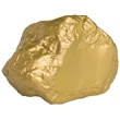 Squeezies® Gold Nugget Stress Reliever