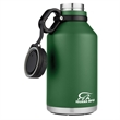 Coleman Growler 64 Oz Stainless Steel Beverage Container - 64 oz. stainless steel Growler with double-wall vacuum insulation and tethered lid from Coleman