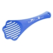 "Pet Kitty Litter Scoop - Acrylic plastic kitty litter scoop with a long handle that measures 4 3/4"" x 12"" x 1"" and is offered in many colors."