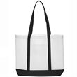 Tote Bag with Trim Colors