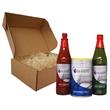 Cajun Seasoning 3 Piece Gift Set - Gift pack with (1) 8 oz Seasoned Salt, (1) 6 oz Cajun Hot Sauce, and (1) 6oz Jalapeno Hot Sauce