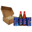 Cajun Seasoning 4 Piece Gift Set - Gift pack includes (1) 8 oz Seasoned Salt, (1) 8 oz Blackening Seasoning, (1) 6 oz Cajun Hot Sauce, and (1) 6oz Jalapeno Hot Sauce