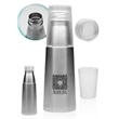 17 oz Stainless Steel Water Bottle with Tritan Cup