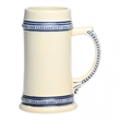 17 oz. ceramic stoneware tankard beer mug