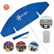 """The Vented Trio - Patio/P.O.P./Beach Umbrella UV/SPF50 - Customizable umbrella for the beach, patio or point-of-purchase displays. Comes with 78"""" vented arc and several color choices."""