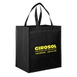 "Gloss Laminated Designer Grocery Tote Bags - Screen Print - Gloss Laminated Non-Woven Designer Grocery Tote Bag with Insert (13""x10""x15"") - Screen Print"