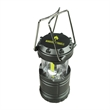 COB Outdoor Lantern - COB (Chip on Board) pull up lantern with 3 extra bright strips and 230 lumens. Requires 3 AAA batteries.