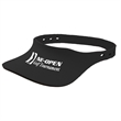 "Neoprene Visor - Flat sun visor made of neoprene that measures 10 1/4"" x 7"" x 1/4"" and is soft and safe to use while being active."