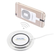 GLIDE WIRELESS CHARGING BASE - This handy Glide Wireless Charger works with all the latest phones that have built in Wireless Charging capability. It can also ch