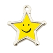 Star Stock Charm - Add stock charms to key chains, bracelets, zipper pulls and cell phone charms.