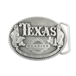 3D Pewter Belt Buckle (3 x 4 in) - Custom shape 3D pewter belt buckle.