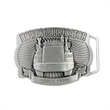 3D Pewter Belt Buckle (2 x 3 in) - Custom shape 3D pewter belt buckle.