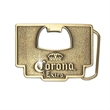 Belt Buckle Bottle Openers (2 x 3 in) - Custom shape belt buckle.