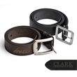 Branded Leather Belt (36 in  Long) - 36 inches Black or brown genuine leather belt.