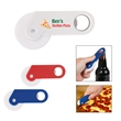 Pizza Cutter with Bottle Opener - Pizza cutter with bottle opener.