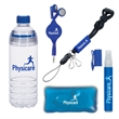 The Gym Kit - The Gym Kit. Pricing Includes a 1 Color Imprint in 1 Location on Each Item (4 Color Process Label on Item #PMG1-9059).