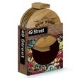 4 Piece Bamboo Coaster Set in Gift Box - Bamboo coaster set in gift box