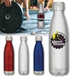 BrandGear™ Sherpa™ Stainless Steel Water Bottle - Stainless steel water bottle with 16 oz. capacity, double-walled construction and vacuum-sealed chrome cap and copper plating
