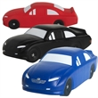 Stock Car Squeezies® Stress Reliever - Stock car shaped stress reliever.
