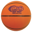 """Mini Rubber Basketball - Mini rubber basketball, 5"""" features a re-inflatable athletic valve."""