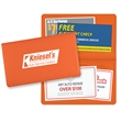"""Coupon Holder - Coupon holder made of vinyl measuring 3-1/2"""" x 7"""" and available in several colors."""