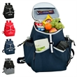Backpack Cooler - 22 Can - Leak-proof, insulated cooler with 22 can capacity, heat sealed liner and side pockets