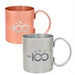 16 OZ  ALUMINUM  MOSCOW MULE - Moscow Mule Mug crafted from aluminum with riveted handle.