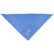Pet triangle bandanna without reflective binding - medium - Colored muslin bandana pet triangle with a high thread count.