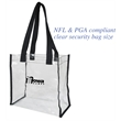 Clear Stadium Tote Bag - Clear Stadium Tote Bag