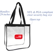Clear Open Stadium Tote - Clear Open Stadium Tote