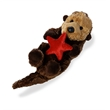 """8"""" Otter Sea Otter with Starfish"""